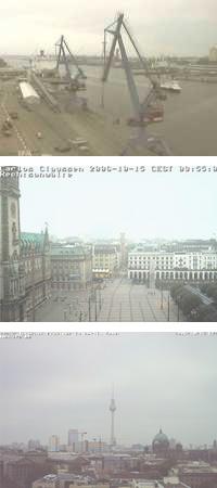 Herbst in Kiel, Hamburg und Berlin