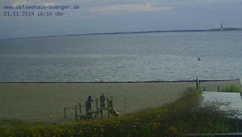 Aktuelles Live Webcam Bild von Ostseehaus Bünger GmbH