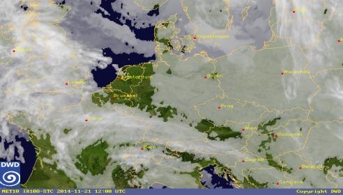 Aktuelles Live Webcam Bild von Deutscher Wetterdienst, Offenbach