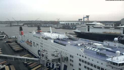 Aktuelles Live Webcam Bild von Seehafen Kiel