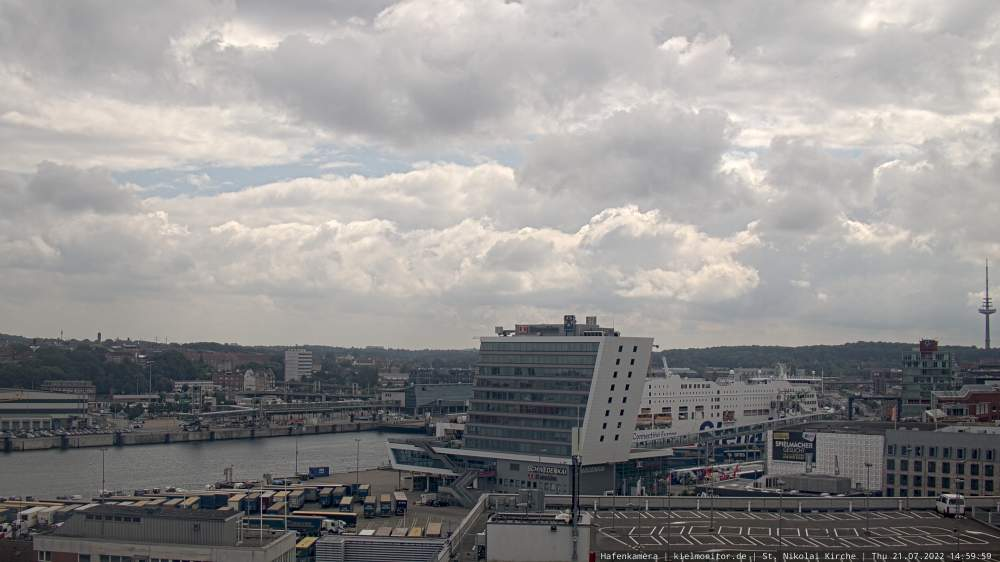 Webcam Ostseekai Kiel